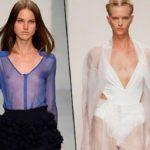 Прозрачная одежда и прозрачные вставки – модный тренд весенне-летнего сезона 2013