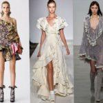 Рюши и оборки – модный женственный тренд 2012