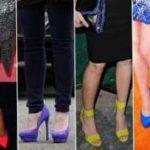 Примерьте новый тренд 2012 — цветные туфли