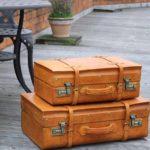 Сумка-чемодан в винтажном стиле — модный тренд осеннего сезона