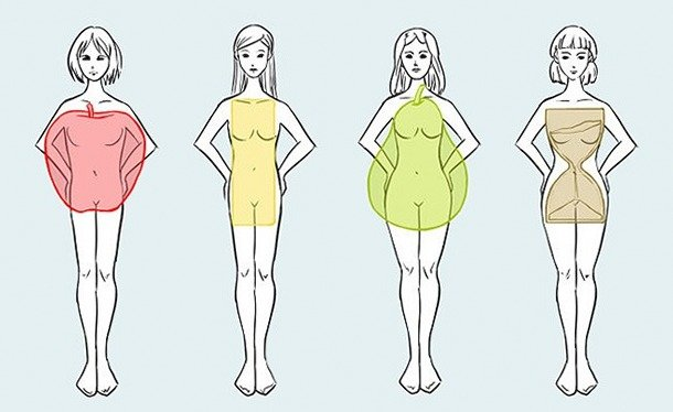 Стройность и тип фигуры