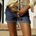 Тренд лета — джинсовые шорты