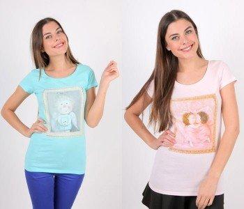Оригинальные футболки с авторскими принтами к празднику весны 1