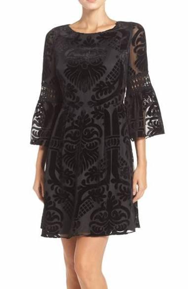 Зимние вечерние платья