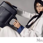Белла Хадид снялась в фотосессии для бренда Макс Мара, весенняя коллекция аксессуаров