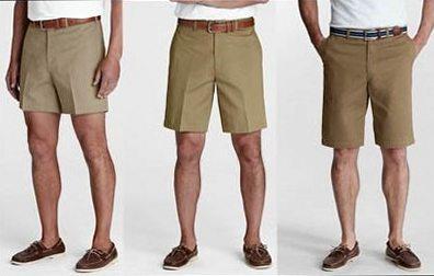 Как носить шорты