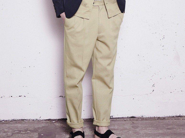 С чем носить широкие брюки