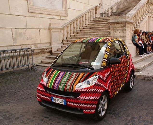 Необычные автомобили. 25 фото