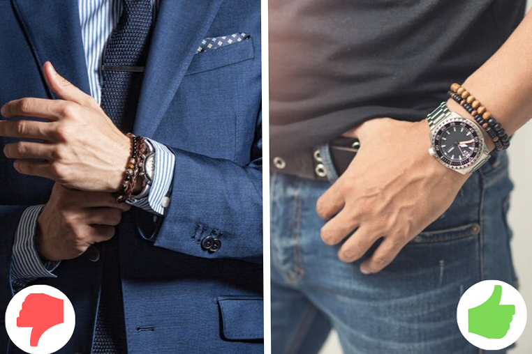 Как носить браслеты