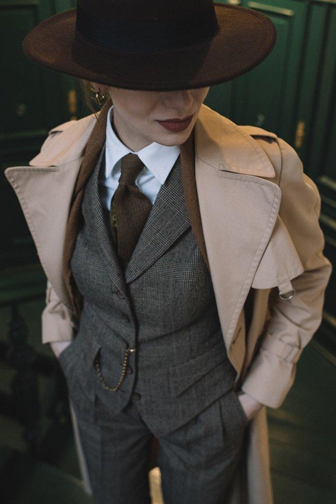 Женская одежда в мужском стиле