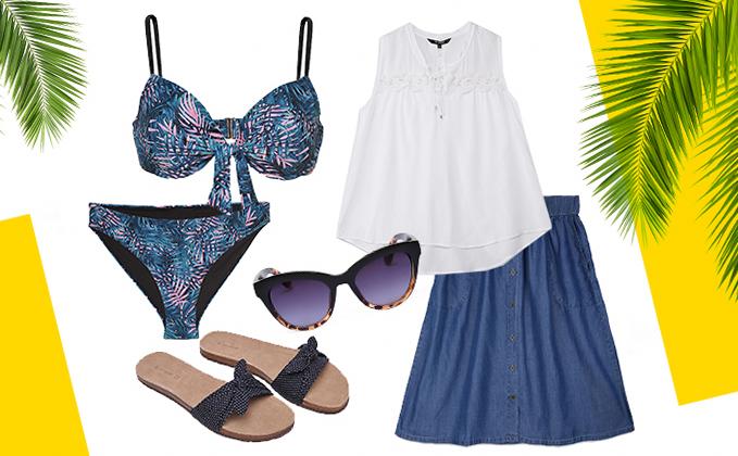 Одежда для пляжа