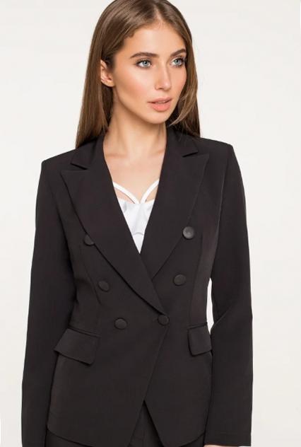 Что всегда будет модно. Черный пиджак