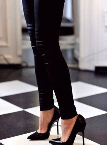 Что всегда будет модно. Высокие каблуки