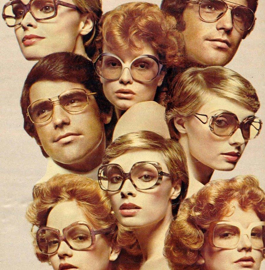 Модные очки. Очаровательное ретро