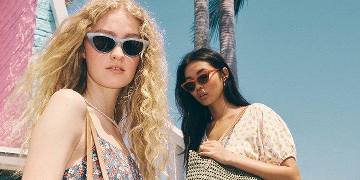 Модные очки. Сладкое лето