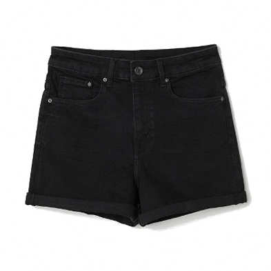 Джинсовые шорты на лето. Классические черные