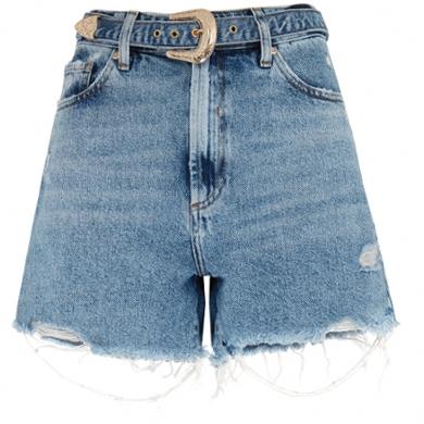 Джинсовые шорты на лето. Ретро стиль