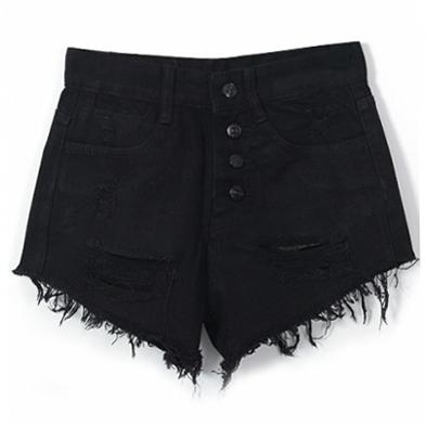 Джинсовые шорты на лето. Сексуальные вырезы