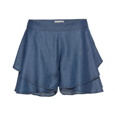Джинсовые шорты на лето. Шорты-юбка
