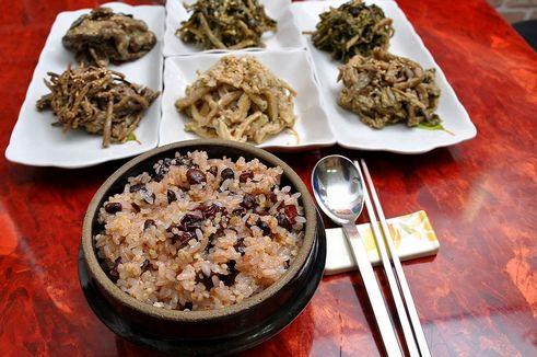 Корейская кухня. Ogokbap