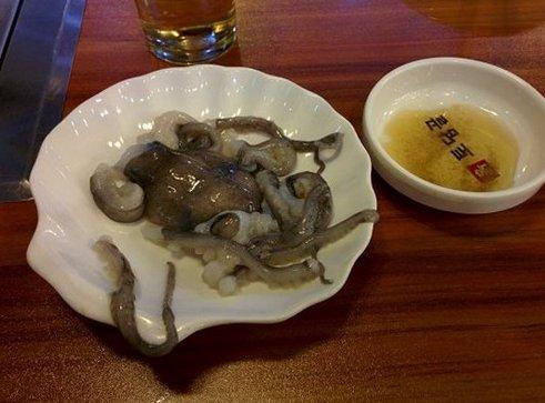 Корейская кухня. Саннакчи