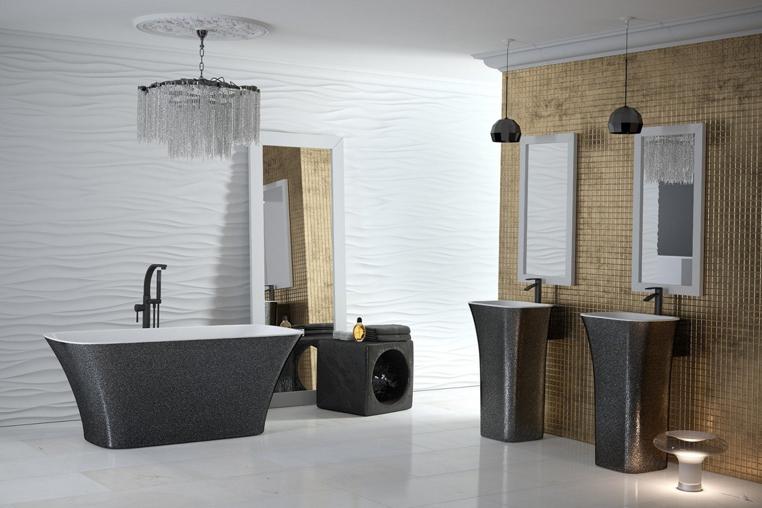 Модные ванны. Мы проверяем тенденции