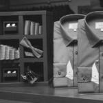 Мужские рубашки slim