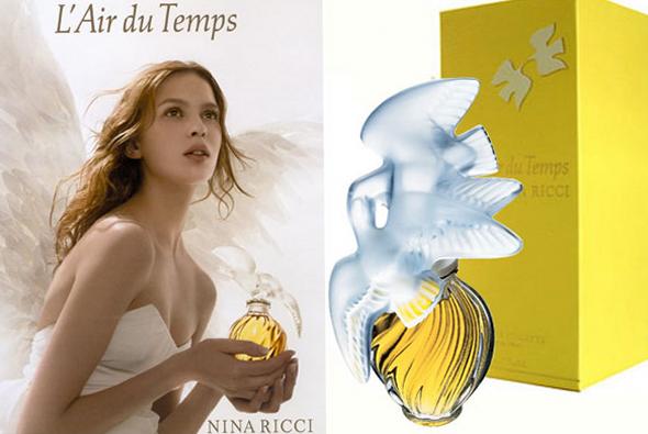 Самые популярные духи. Топ 5. L'Air du Temps - Нина Риччи