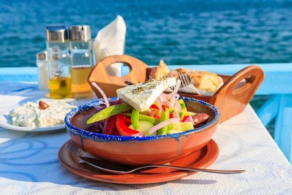 Средиземноморская кухня. Греческая кухня
