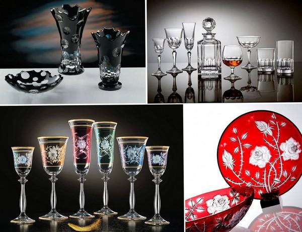Богемское стекло, богемский хрусталь и чешское стекло