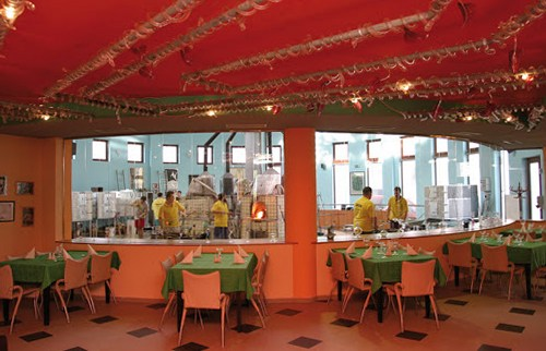 Чешское стекло. Ресторан Ajeto