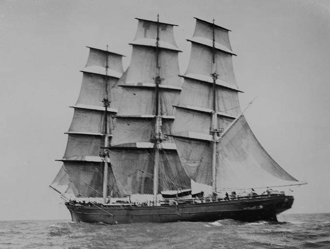 Катти Сарк. Фотография капитана Вудджета