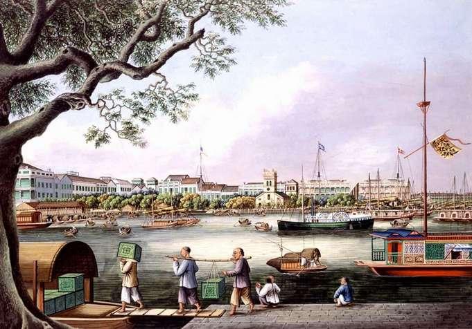 Катти Сарк. Китайская чайная гонка 1866