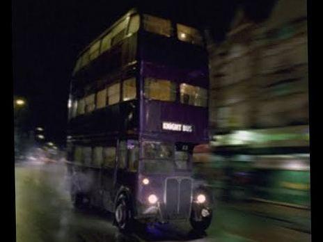 Лондонский автобус в кинематографе. Гарри Поттер