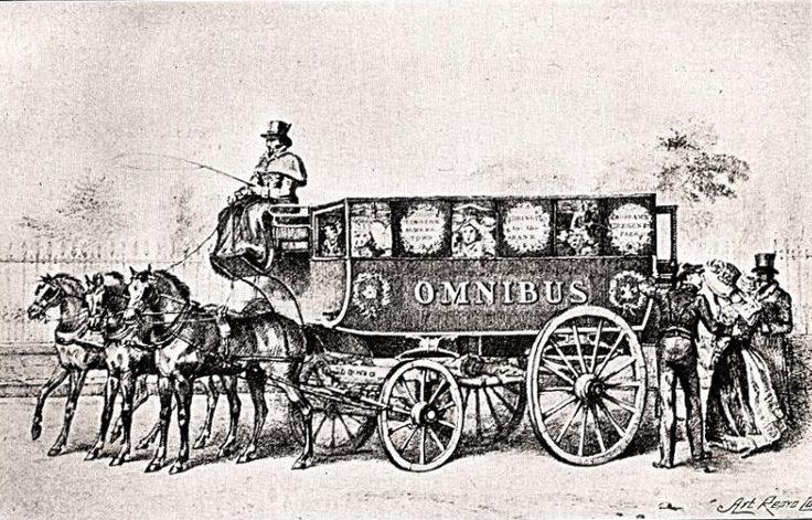 Лондонский автобус. Омнибус