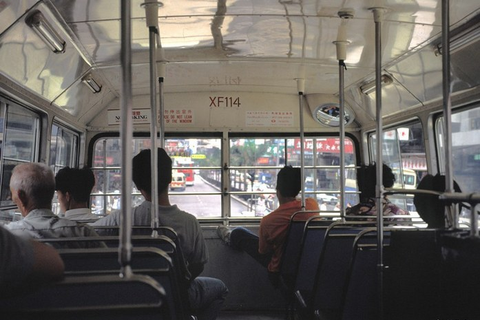 Лондонский автобус. Верхняя палуба