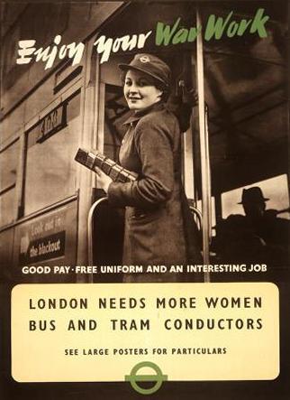 Лондонский автобус. Вторая мировая война
