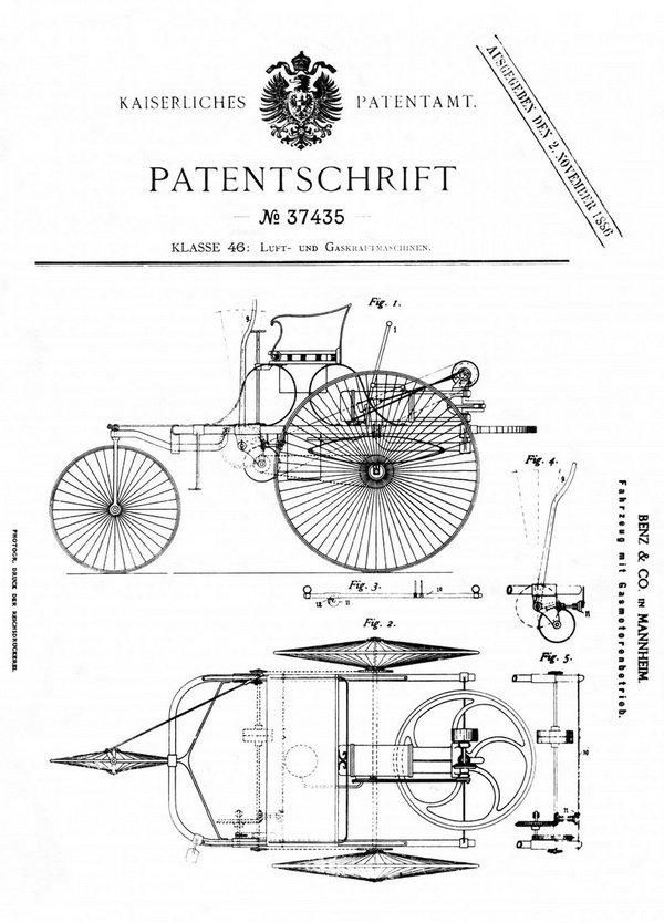 Мерседес-Бенц 134 года от первого автомобиля до современности