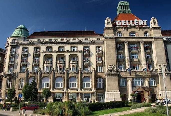 Термальные курорты Венгрии. Gellért Fürdő
