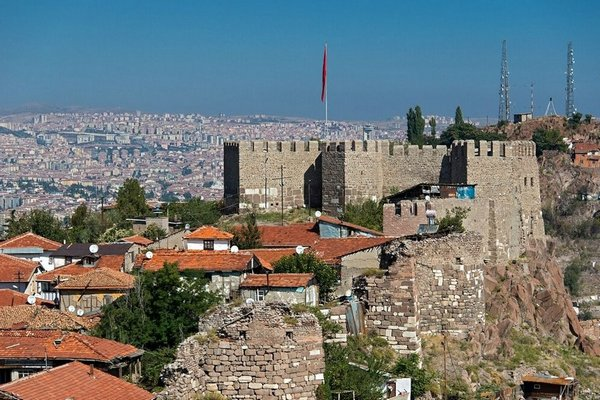 Анкара и Стамбул. Достопримечательности Анкары. Форт Ак-Кале