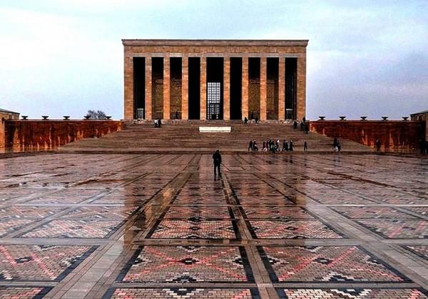 Анкара и Стамбул. Достопримечательности Анкары. Мавзолей Ататюрка