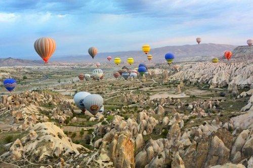 Лучшие курорты Турции. Каппадокия