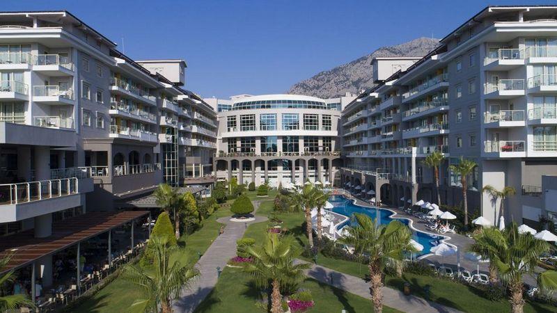 Лучшие отели Турции. Barut Collection Kemer