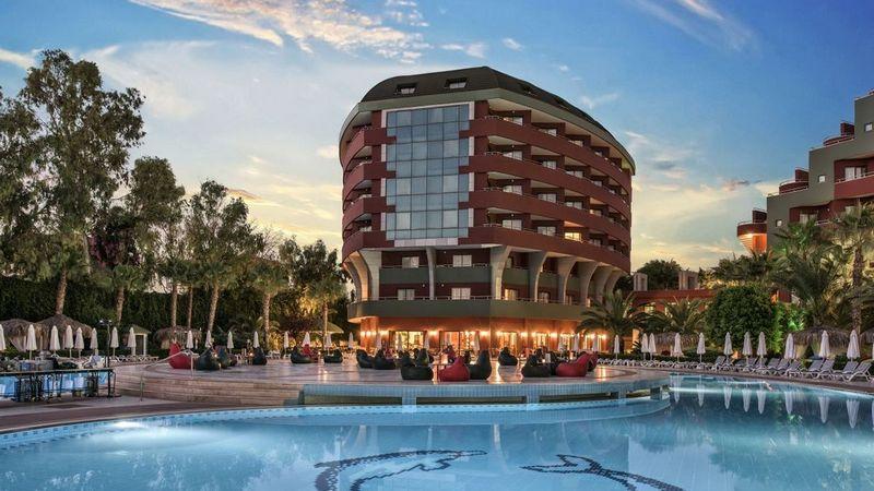 Лучшие отели Турции. Delphin Deluxe Resort Okurcalar