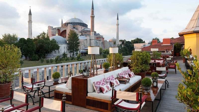 Лучшие отели Турции. Four Seasons Hotel Istanbul