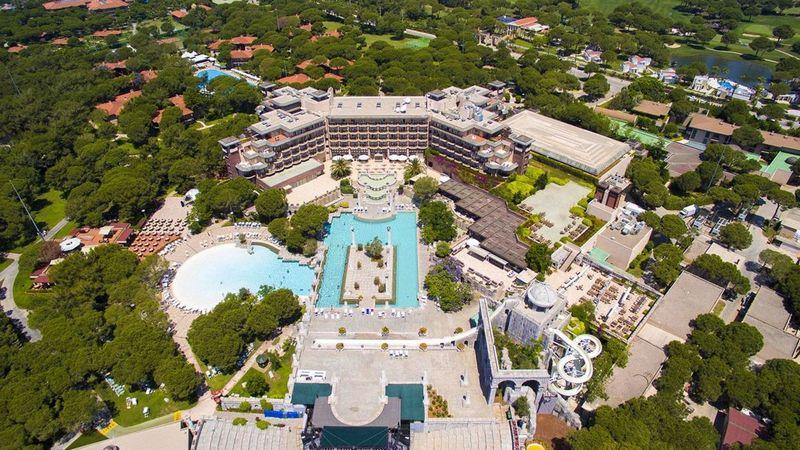 Лучшие отели Турции. Xanadu Resort Hotel Belek