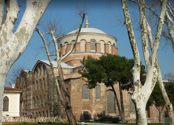 Стамбул и Анкара. Достопримечательности Стамбула. Церковь Святой Ирины