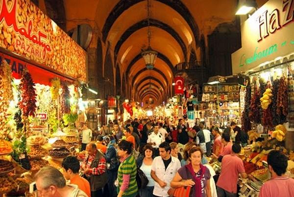Стамбул и Анкара. Достопримечательности Стамбула. Египетский базар