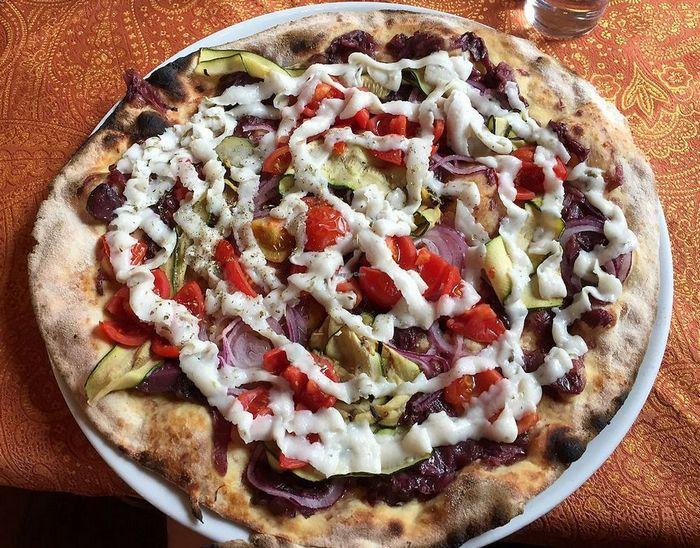 Виды пиццы. Круглая пицца
