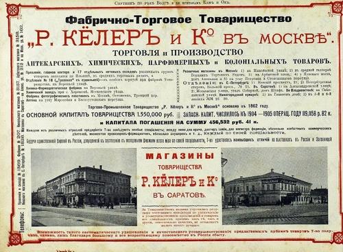 История русской парфюмерии. Р.Кёллер и Ко